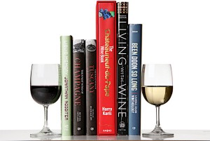Eric Asimov reviews these wine reads (pic from The Pour, Asimov's blog)