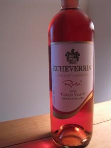 Echeverria Cabernet Sauvignon Rosé 2009