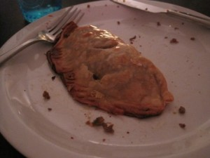 Crispy, crunchy delicious meat pie!