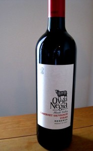 Oveja Negra 2008 Cab-Syrah blend, Maule Valley, Chile