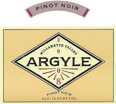 Label image from Argyle website
