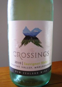 Crossings Sauvignon Blanc 2010