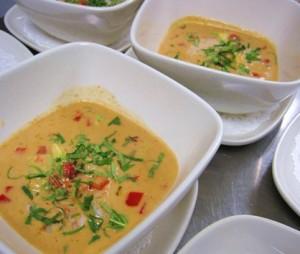 Thai Coconut Curry Shrimp Soup