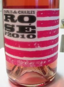 charles & charles Rose 2010